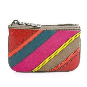 Fossil Coin Stripe Wallet